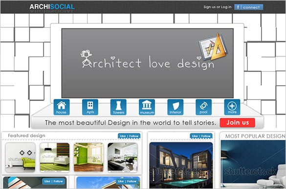 14 psd templates & designs for architect | free & premium templates, Presentation templates