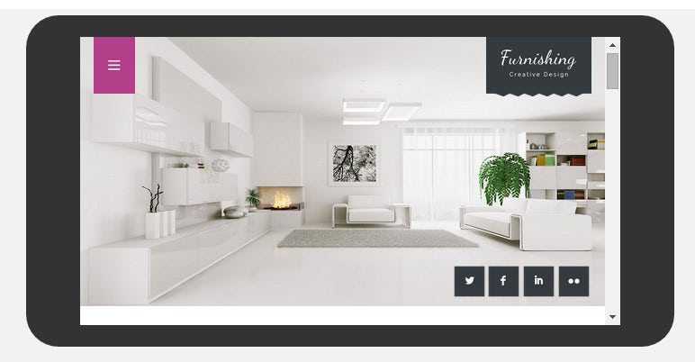urnishing a interior architects multipurpose flat bootstrap responsive web template
