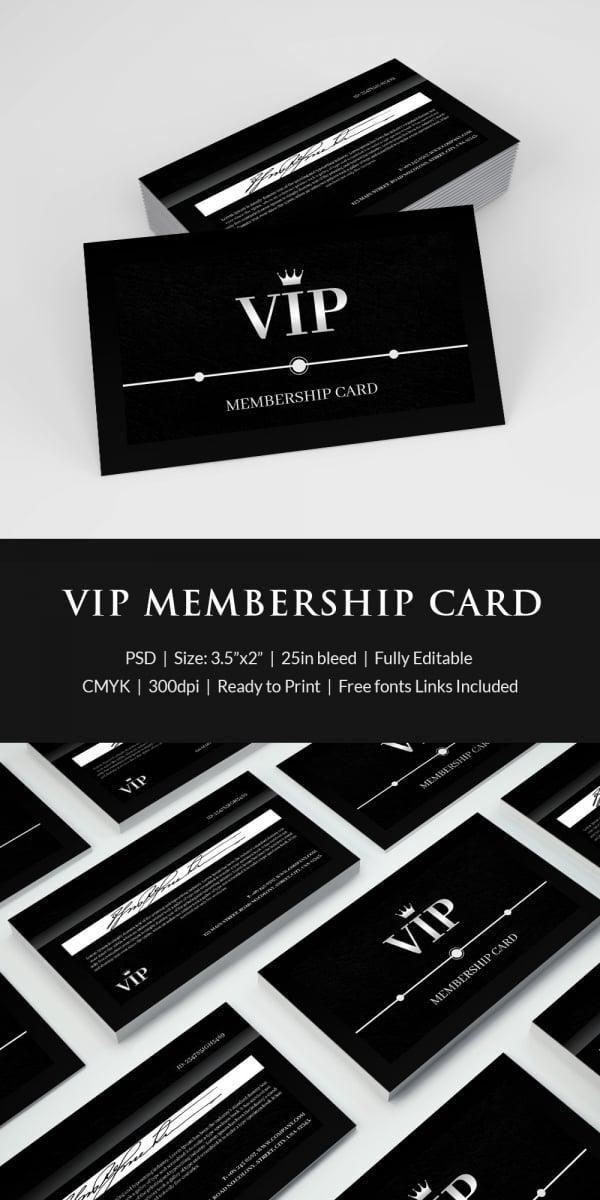 Membership card template 31 free printable word pdf psd eps amazing membership card template reheart Images