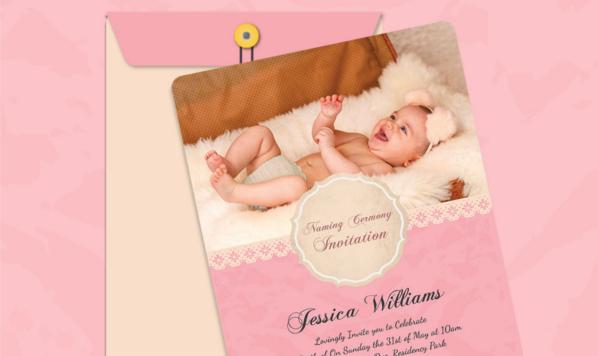 35 Naming Ceremony Invitations Psd Ai Free Premium
