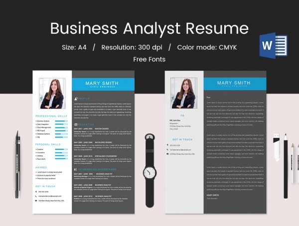 Business Analyst Fresher Resume Download