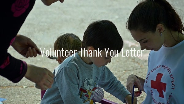volunteerthankyouletter