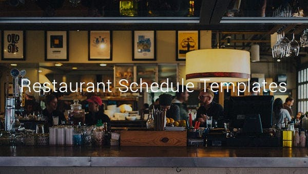 restaurantscheduletemplates