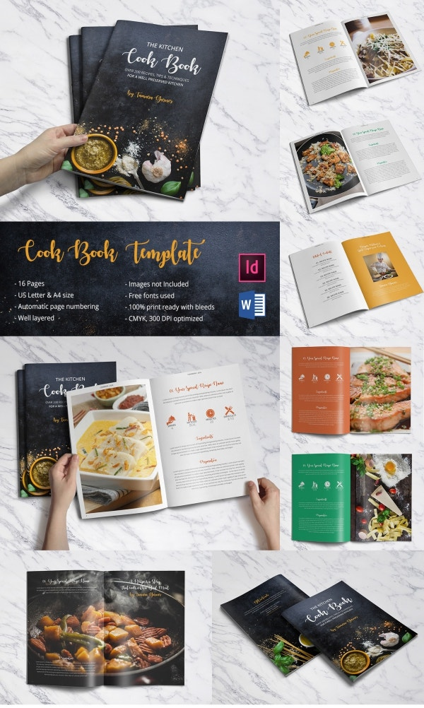 Free template indesign catalog