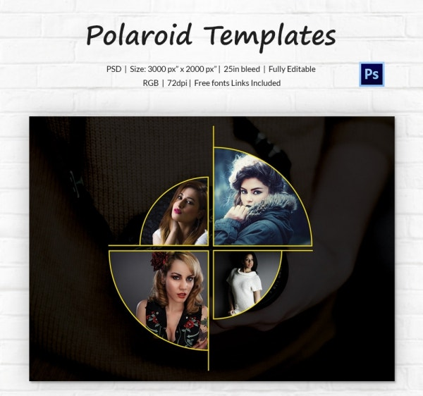 Amazing Polaroid Template