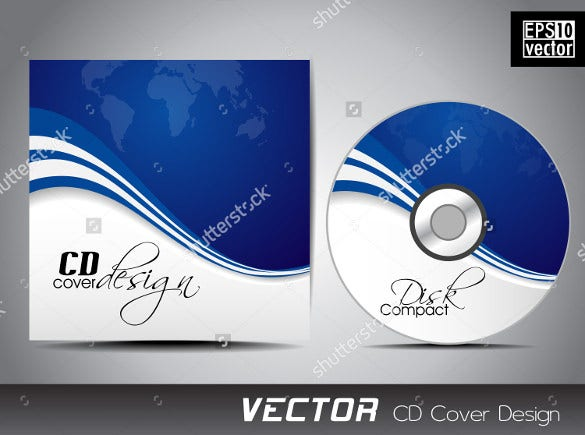 cd label template – 20+ free psd, eps, ai, illustrator format, Presentation templates