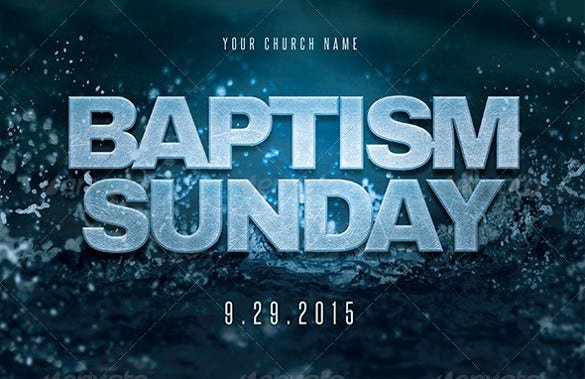 baptism invitation for everyone