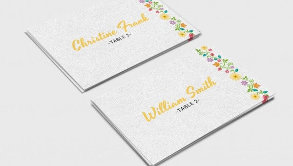 wedding place card templates1
