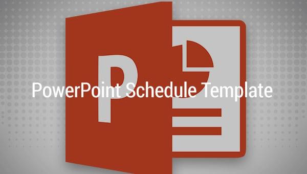 powerpointscheduletemplate