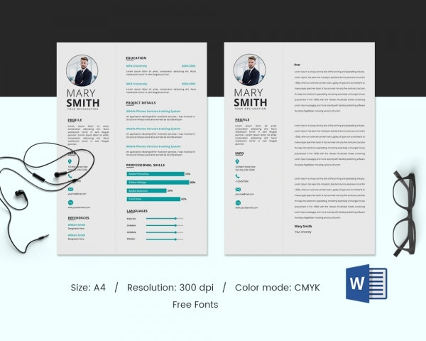 Graphic Designer Resume Template for Freshers