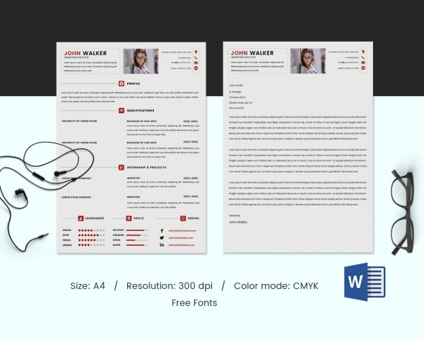 Professional Resume Template Download Free Resume Template Modern