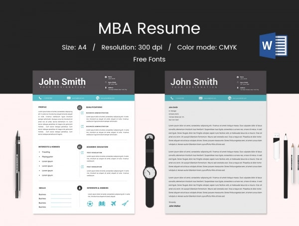 Resume for MBA Fresher