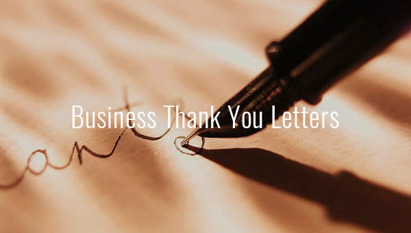 businessthankyouletter