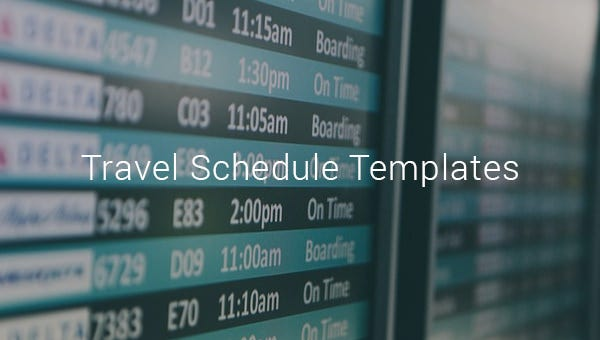 travelscheduletemplates