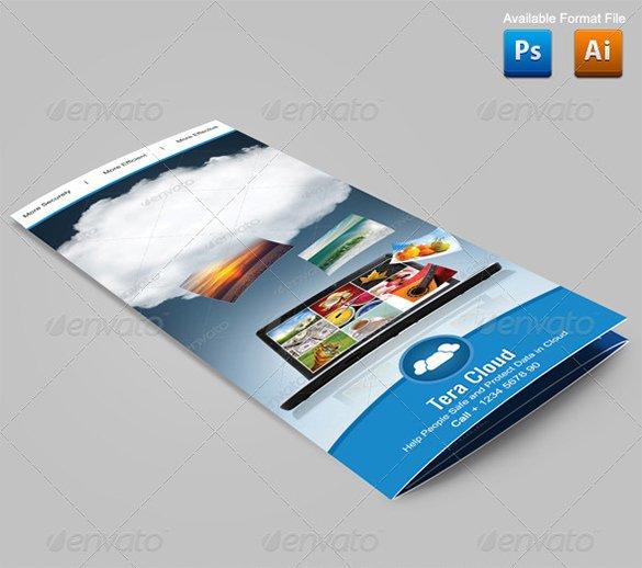 clean google brochure template 81
