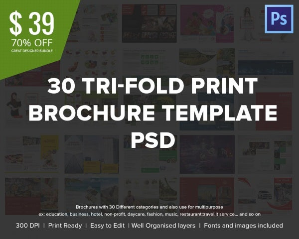 30 tif fold brochre bundle