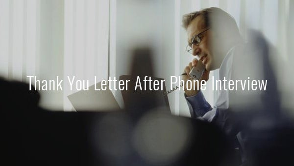 thankyouletterafterphoneinterview