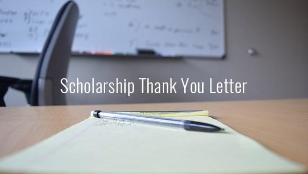 scholarshipthankyouletter