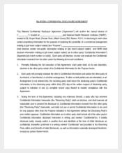 Bilateral Confidential Disclosure Agreement