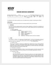 Generic Vendor Confidentiality Agreement