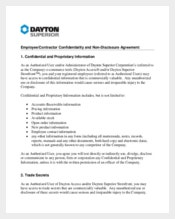 Contractor Confidentiality Agreement for Employment Contractor