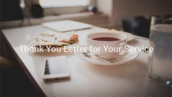thankyouletterforyourservices