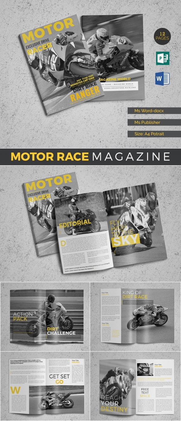 microsoft publisher sport magazine template
