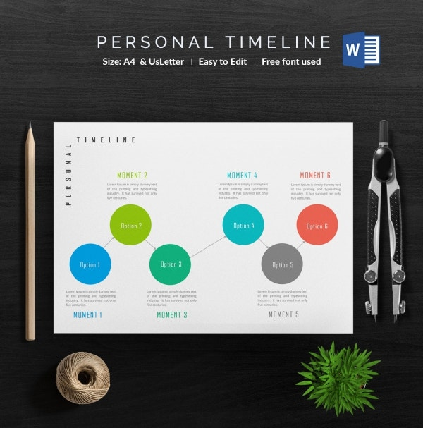 Free Personal Timeline
