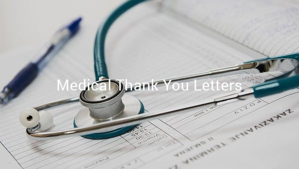 medicalthankyouletters