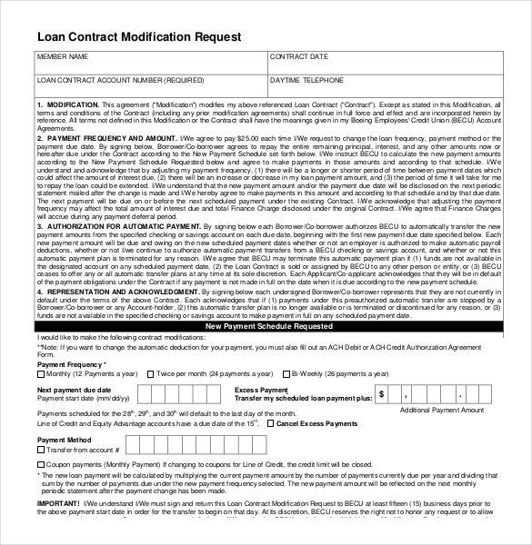 loan contract modification request1