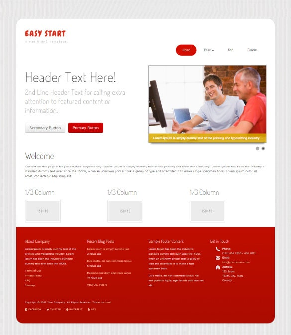 user friendly foundation framework theme