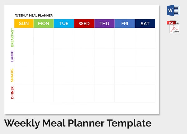 Weekly Schedule Template - 12+ Free Sample Example Format Download ...