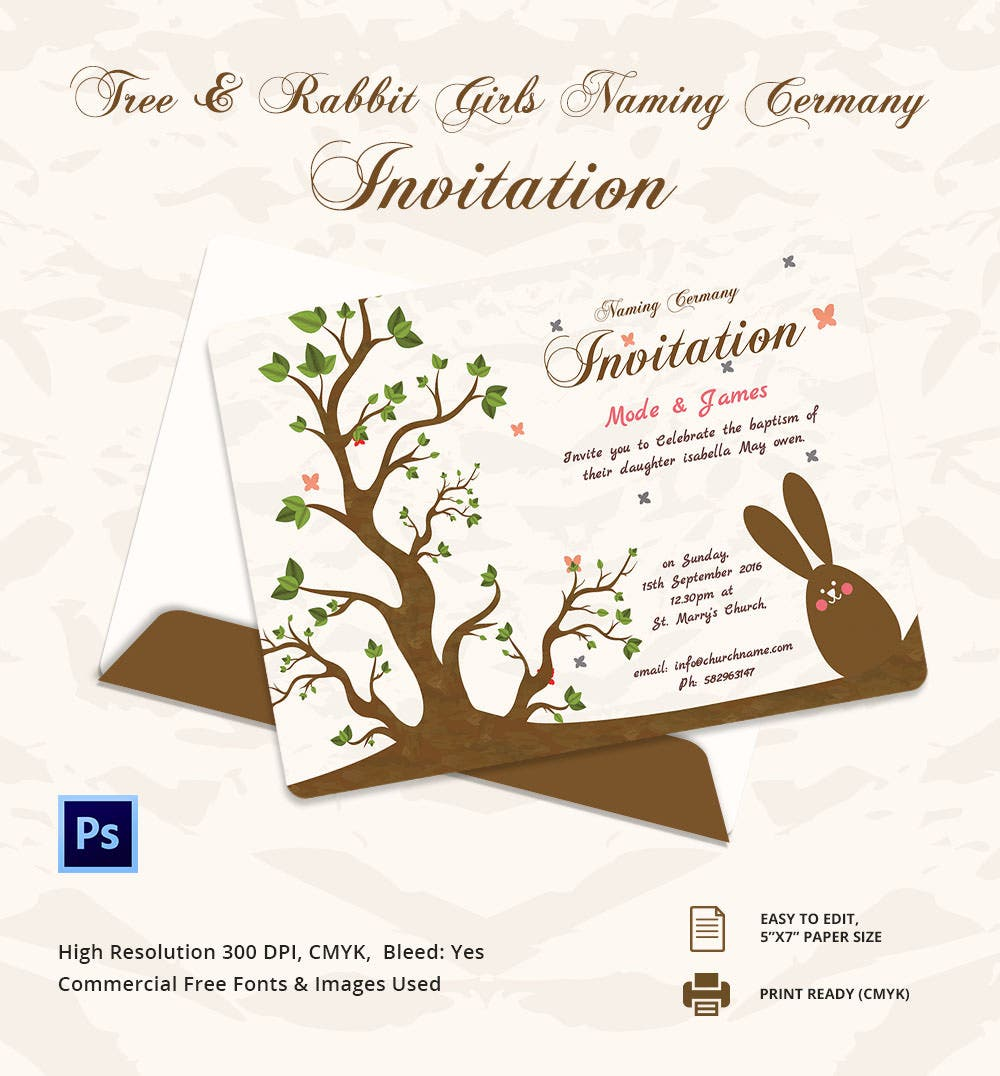 Baby Naming Ceremony Cards Samples. Free Naming Ceremony Namakaran  Invitation Card Online Invitations .
