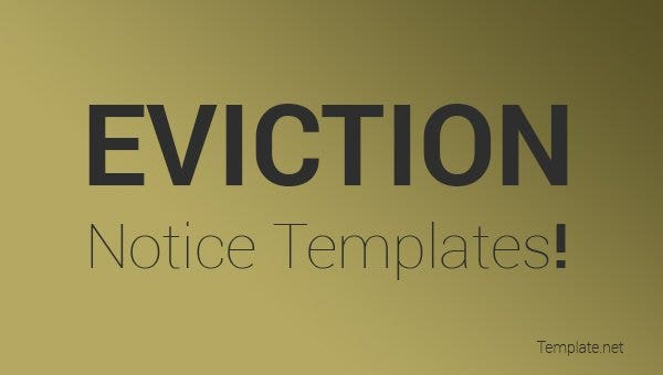eviction-notice-templates