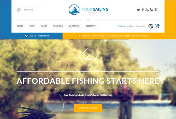 visual composer integrated fishing wp theme1