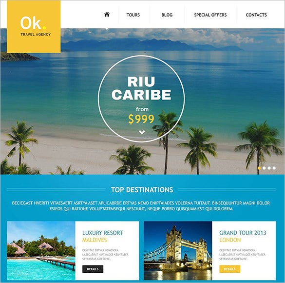 colorful joomla template for travel company1