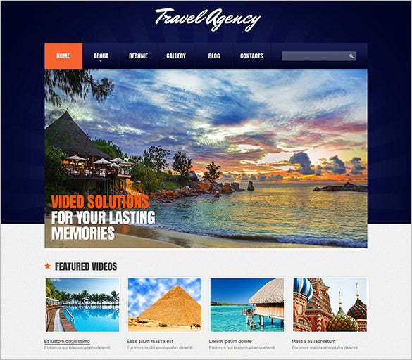dark blue joomla template for travel agency1