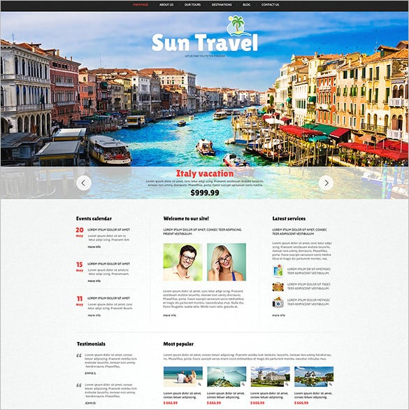 2 columns responsive joomla template for travel agency1