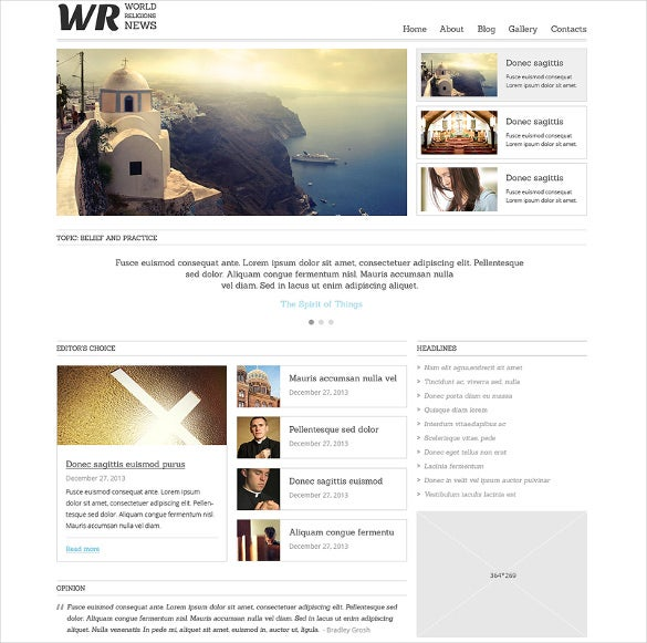 news portal responsive news portal responsive joomla template template