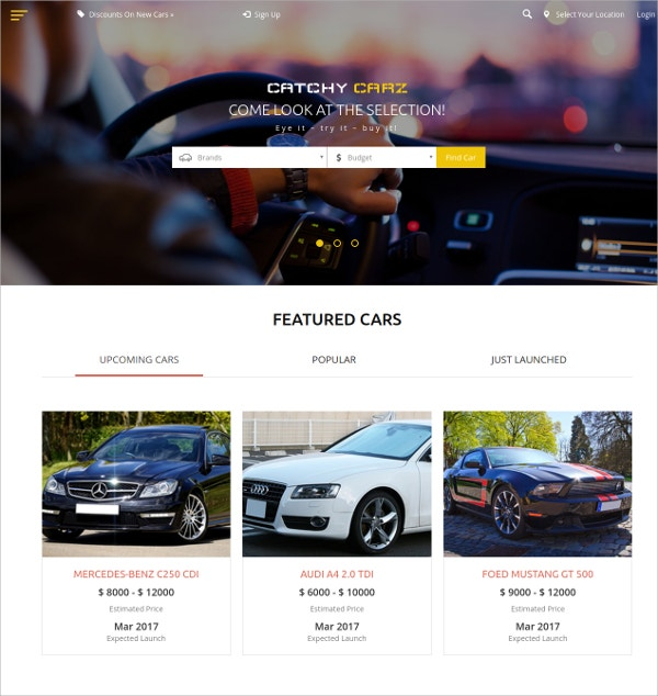 Stunning Designed Responsive HTML5 Website Template
