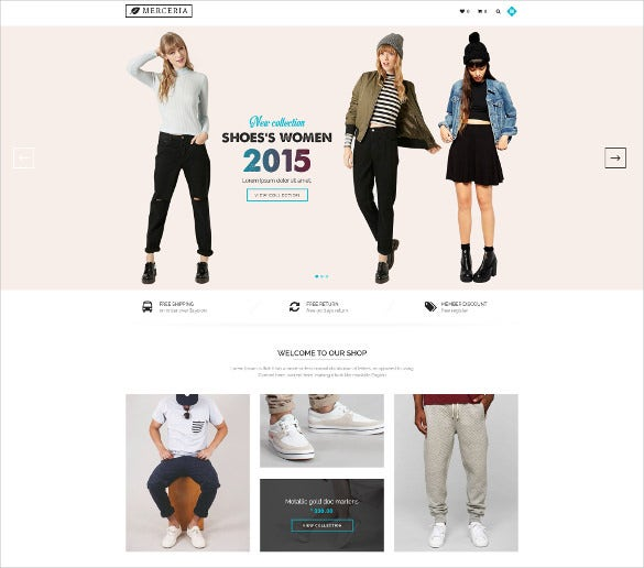 simple fashion and beauty psd template