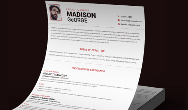 9 Project Manager Resume Templates Doc Pdf Free Premium