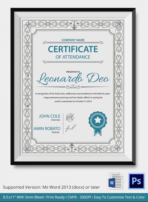 Free Downloadable PDF Certificates amp Awards  Teachnetcom
