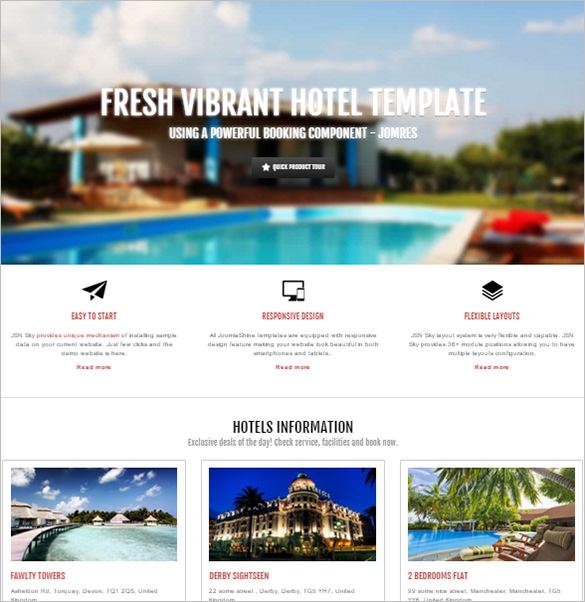 19+ Hotel Joomla Themes & Templates | Free & Premium Templates
