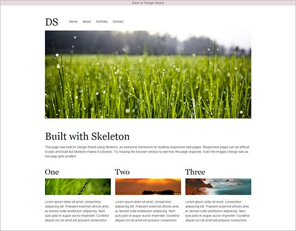 Mobile-Friendly-Web-Page-With-Skeleton-Responsive-Web-Design-Tutorial