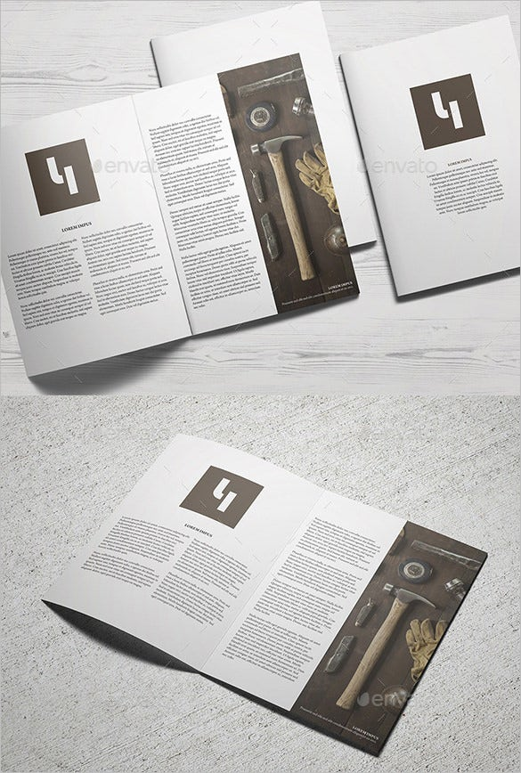 a4 catalogue mockup psd
