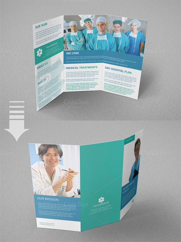 a4 trifold medical brochure 8