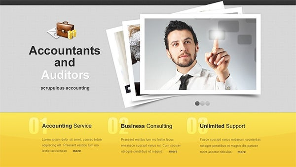accountants and auditors website templates