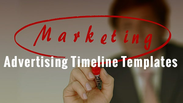 advertisings timelines templates
