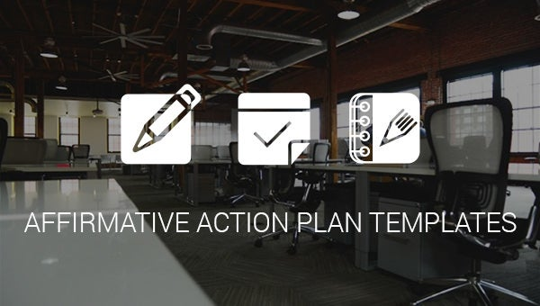 affrimative action plan templates